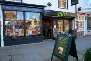 Carmela Deli, Horsham, 34 Carfax, Horsham RH12 1EE<br />