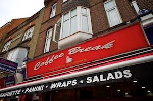 Coffee Break, High Street, Uxbridge, Middlesex, UB8 1JN