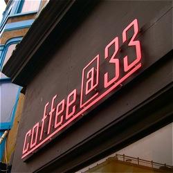 Coffee@33, 33 Trafalgar Street, Brighton, BN1 4ED