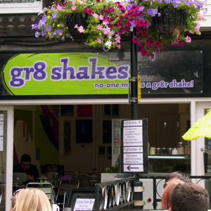 Gr8 Shakes, 17 Brighton Square, The Lanes, Brighton, East Sussex BN1 1HD