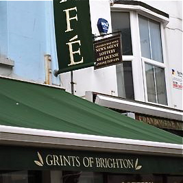 Grints of Brighton, 13 Cranbourne Street, Brighton BN1 2RD