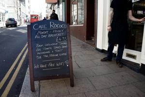 Cafe Rococo, St. James St, Brighton BN2